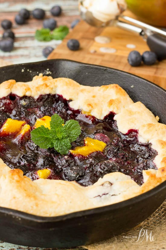 Blueberry Mango Cobbler Recipe 2w