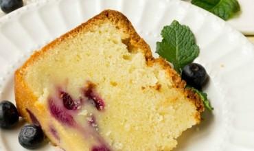 Fresh Blueberry Pound Cake Recipe