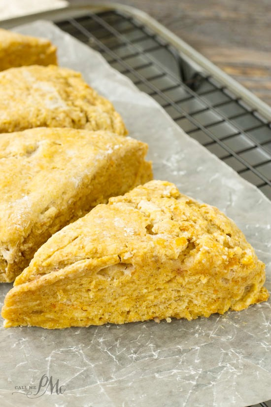 Easiest Pumpkin Scones recipe brings the taste of fall to your breakfast table.