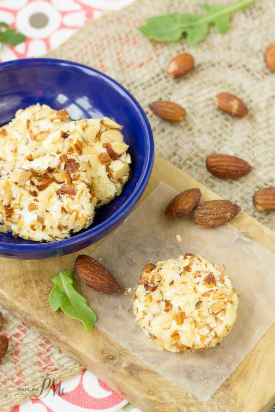 Almond Crusted Goat Cheese recipe 2w