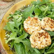 Almond Crusted Goat Cheese