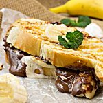 Easy Nutella Dessert Panini is a drippy, gooey dessert that's perfect on the grill and can be made in minutes!