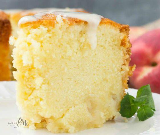 Peach Pound Cake Recipe With Peach Schnapps