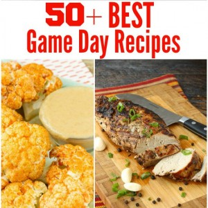 50+ Best Game Day Recipes f