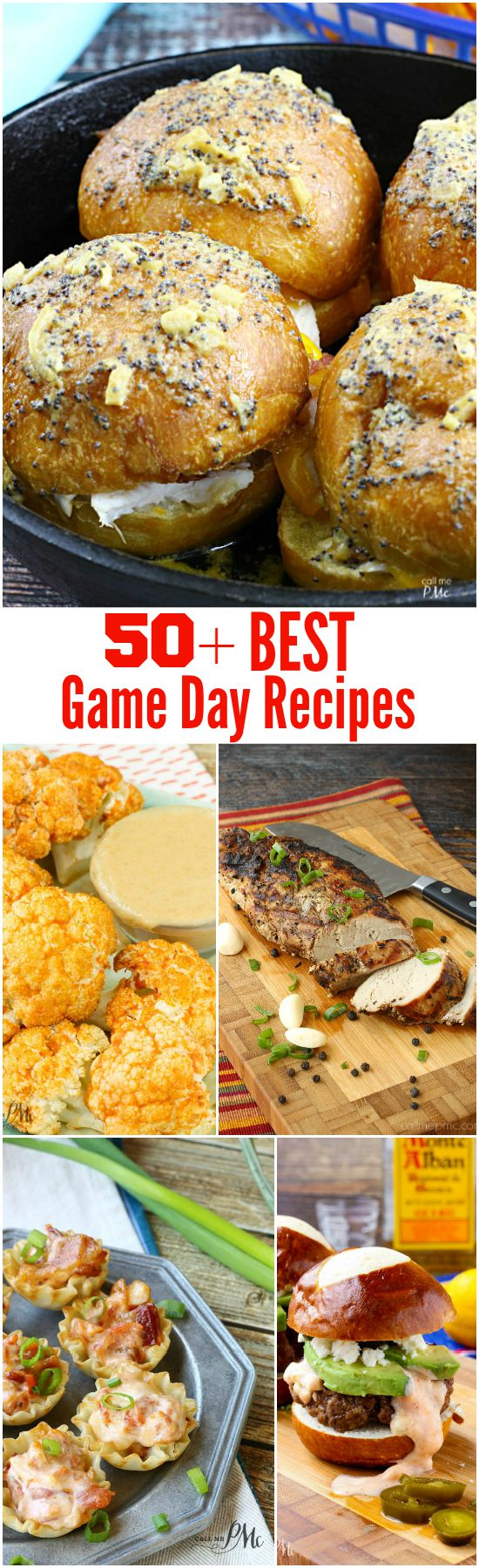 50+ Best Game Day Recipes