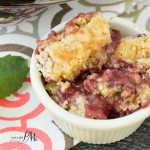 Easy Strawberry Dump Cobbler