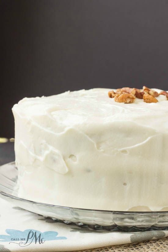 Old Fashioned Banana Layer Cake with Cream Cheese Frosting 2w