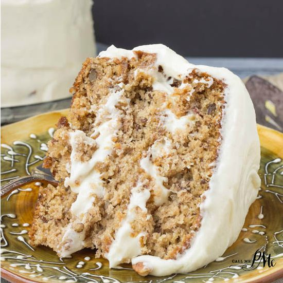 Old Fashioned Banana Layer Cake with Cream Cheese Frosting ~ This is the real deal.