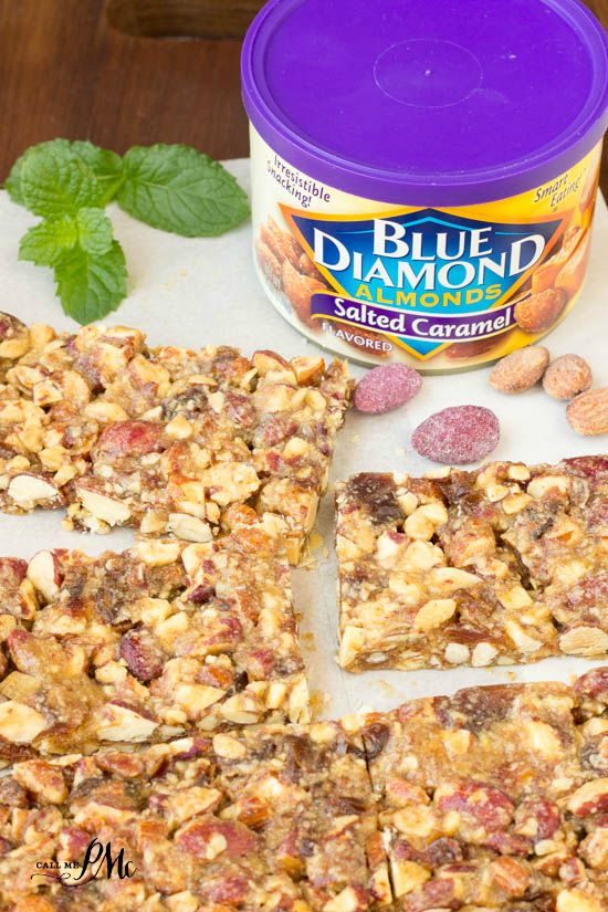 I tried these Salted Caramel and Blueberry Almond Snack Bars and they are easy and delicious!