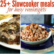 25 Slowcooker meals for busy weeknights
