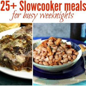 25 Slowcooker meals for busy weeknights f
