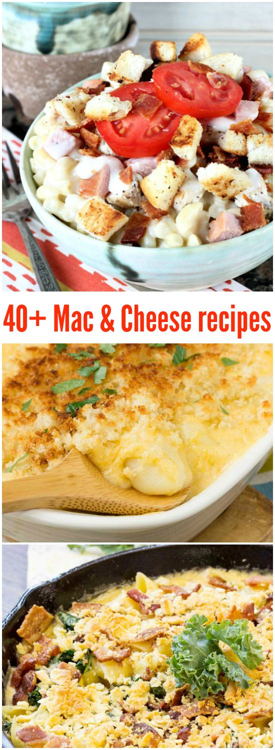 40+ Mac and Cheese Recipes