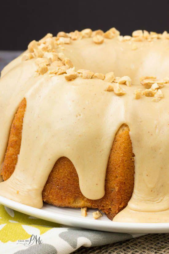 Rich Pound Cake With Butter Glaze Recipe