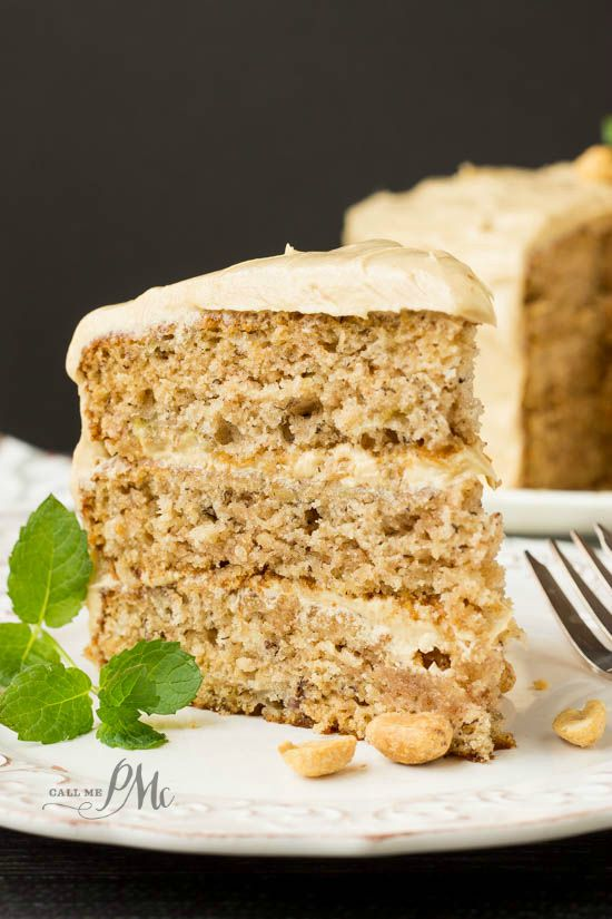 Scratch-Made Banana Cake with Peanut Butter Frosting Recipe is the ultimate dessert for the ultimate banana and peanut butter lover!