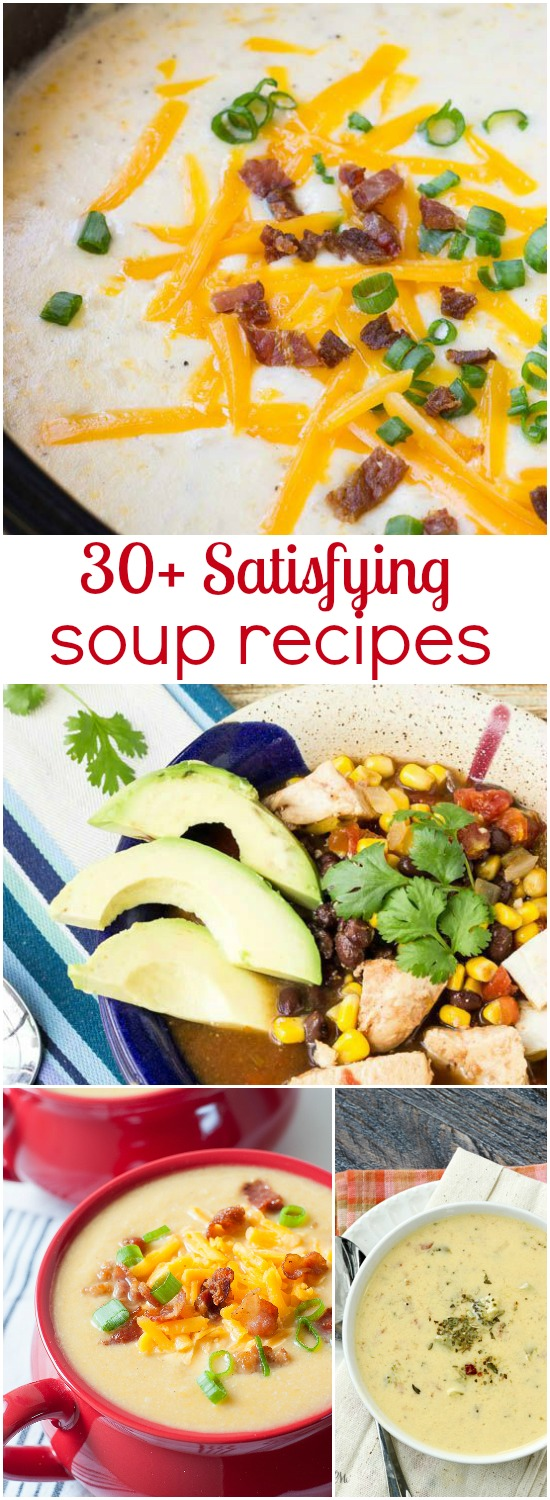 30 Satisfying Soup Recipes
