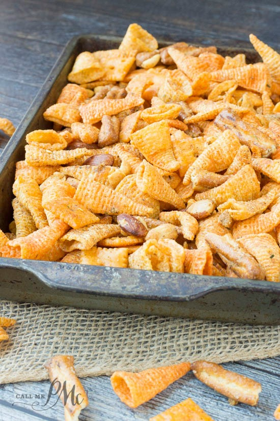 Boy Scout Snack Mix recipe is a flavor explosion. Perfect for tailgating, snack, camping, gifts.