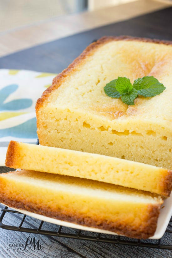 Classic Ricotta Pound Cake Call Me Pmc