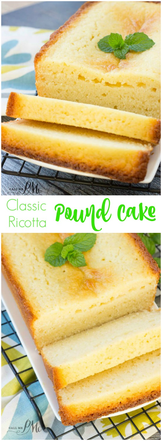 Pound cake recipe with cottage cheese