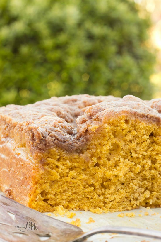 Easy Buttermilk Pumpkin Coffee Cake with Brown Sugar Streusel Recipe 6w
