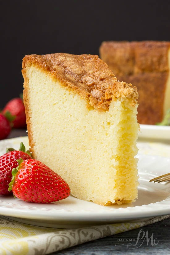Mile High Pound Cake recipe has a crunchy crust, it's tall and impressive, it tastes buttery, soft and amazing.