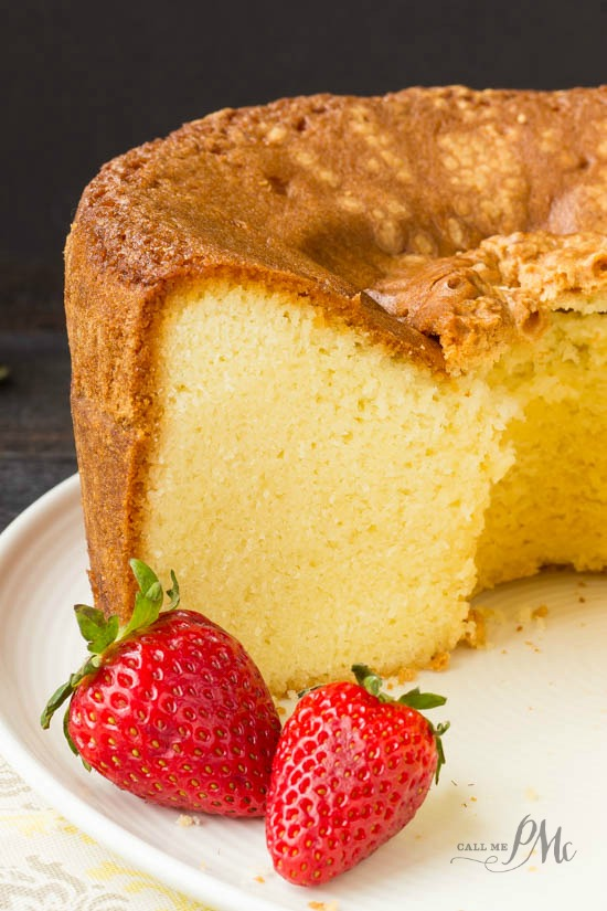 Mile High Pound Cake recipe is the best pound cake recipe ever! It's very easy, tastes buttery and soft and is tall and impressive