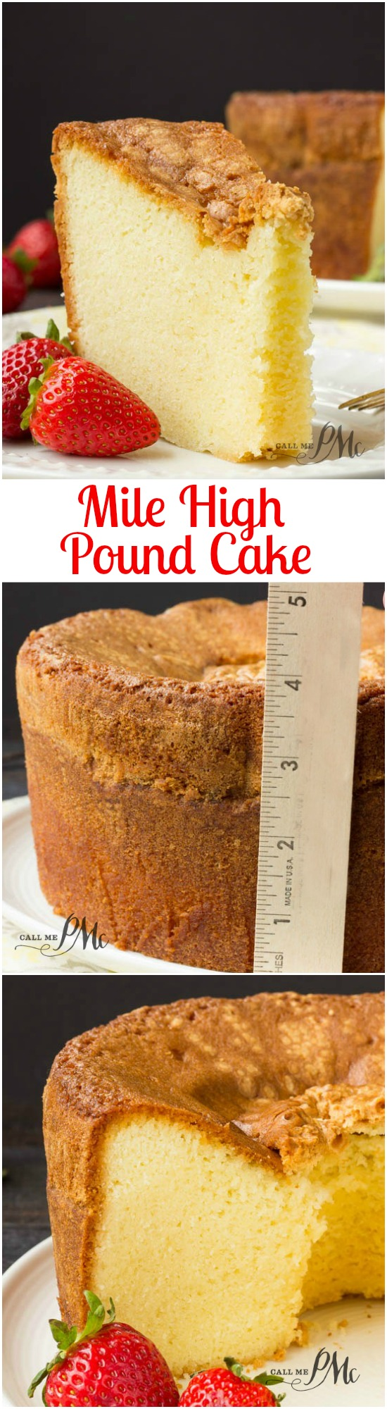 Smooth Light  Up Pound Cake