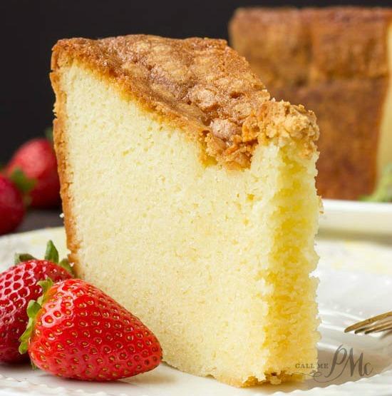 Mile High Pound Cake recipe