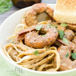 New Orleans Barbecue Shrimp Pasta Recipe