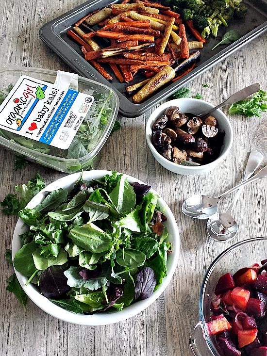 organicgirl salad blends #blognbeachretreat