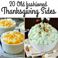 Old Fashioned Thanksgiving Side Dishes