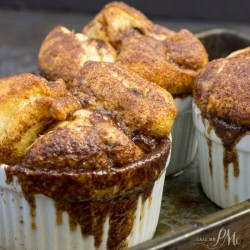 Chocolate Chip Crescent Roll Monkey Bread
