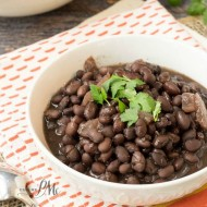 Easy Slow Cooker Black Beans