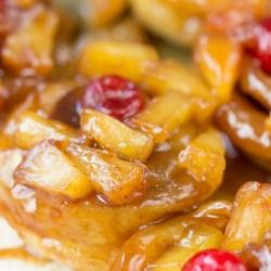 5 ingredient puff pastry pineapple upside down cinnamon rolls