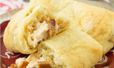 Bacon Cheese Crescent Rolls