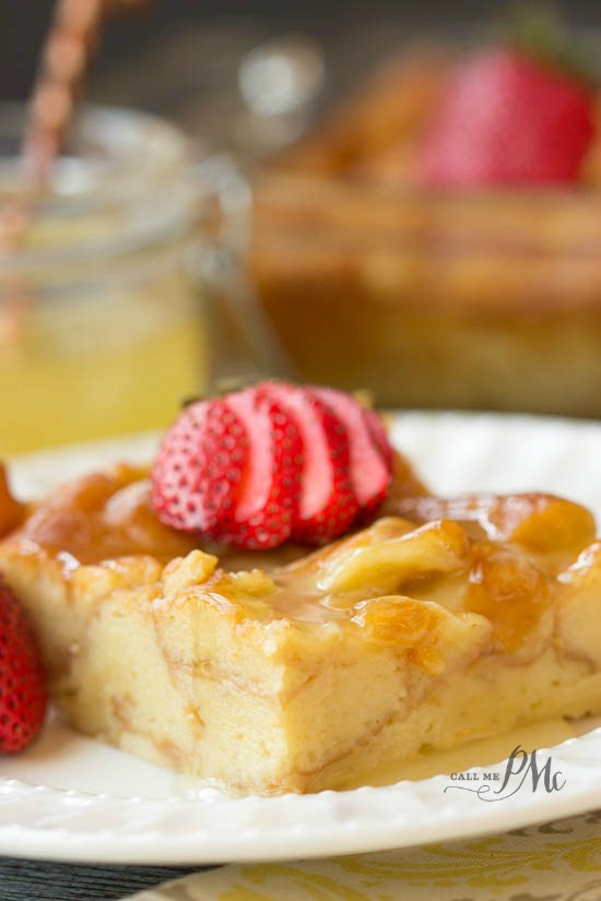 Dunkin Donuts® Bread Pudding recipe an Authentic New Orleans bread pudding kicked up with donuts, milk, eggs, sugar, vanilla, and a lemon glaze