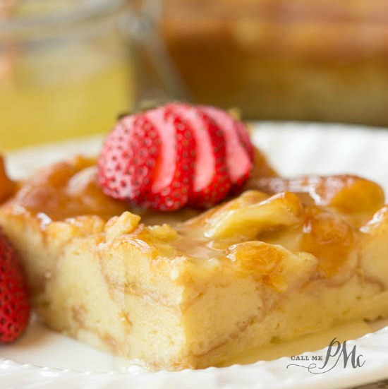 Dunkin Donuts® Bread pudding recipe - so incredible