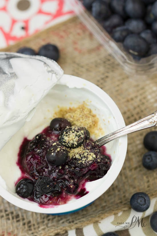 1-Up Your Cup with Greek Yogurt Mix Ins. Easy, tasty, delicious!