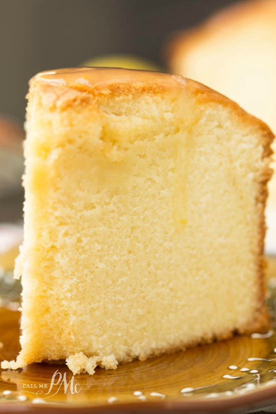 Old Fashioned Lemon Pound Cake From Scratch