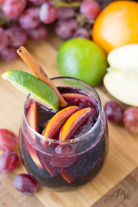 Red Wine Citrus Sangria Recipe -An easy and delicious recipe for the fruity classic sangria. A refreshing drink to enjoy any time of year!