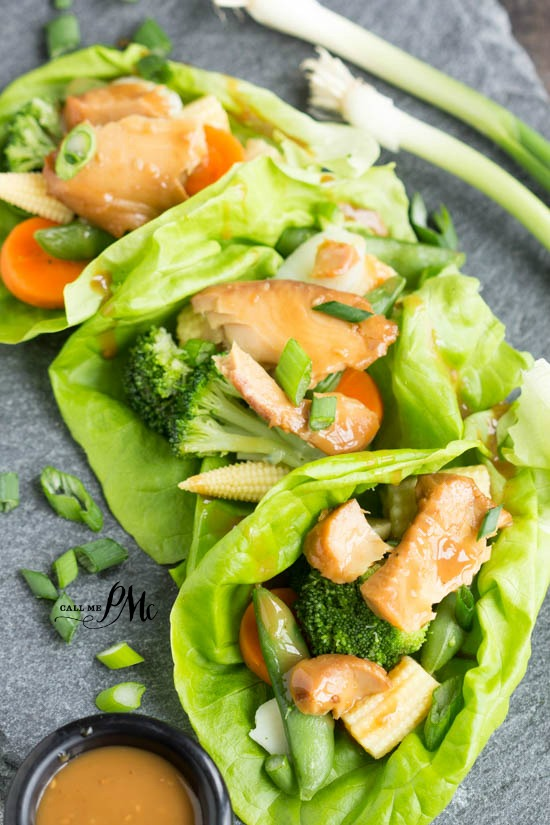 Asian Tilapia Lettuce Wraps 3