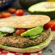 Cilantro Black Bean Burger