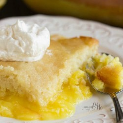 Easy Lemon Lava Cake f