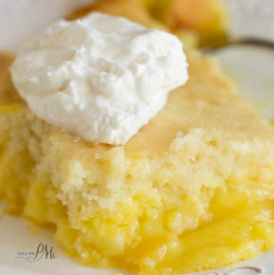 Easy Lemon Lava Cake is silky and luscious. This cake recipe is simple and easy to make! #cake #lavacake #easycake #dessert #fromscratch #lemon