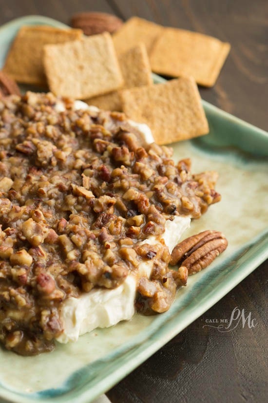 French Quarter Pecan Cheese Spread Recipe - is a little savory, a little sweet, and always a hit!