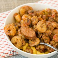 New Orleans Sausage Shrimp Crawfish Pasta