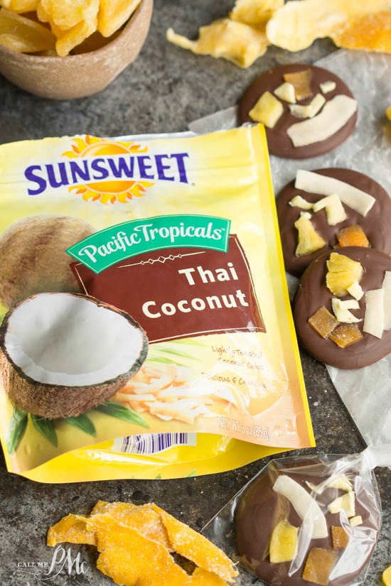 These Tropical Dried Fruit Chocolate Bites are not only tasty, but are nutrient-dense as well. They may just change the way you snack