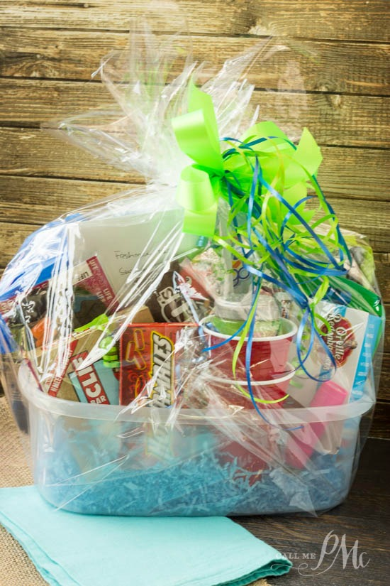 Freshman College Survival Kit Ideas is full of all the unexpected items a college freshman needs but may not have on hand. It's a great gift idea for someone on their way to college!