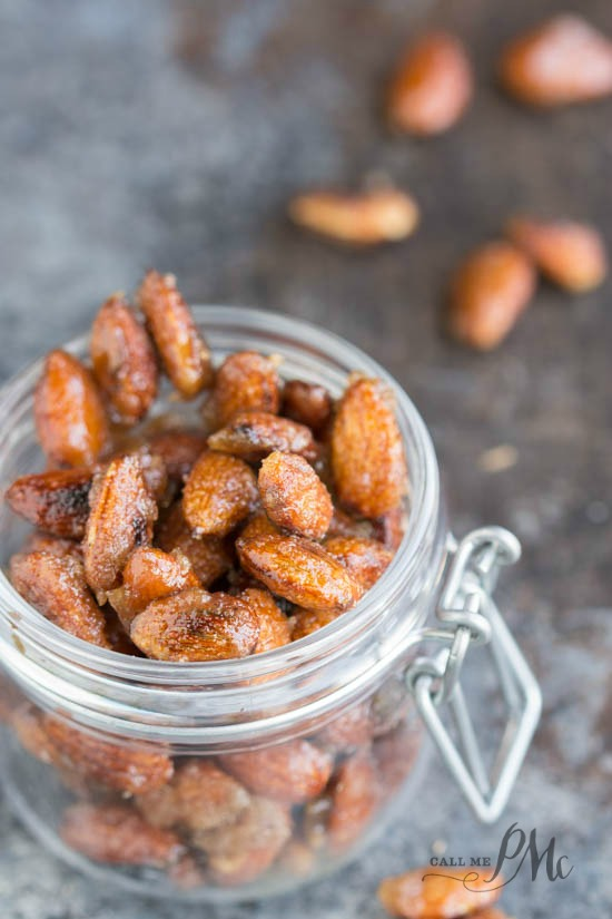 Creole Spicy Roasted Almonds recipe makes the perfect snack and/or gift.