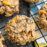Healthy Oatmeal Date Breakfast Cookies