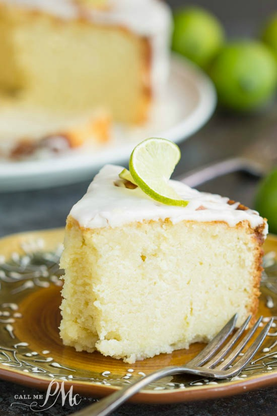 Scratch Made Key Lime Pound Cake Recipe With Key Lime